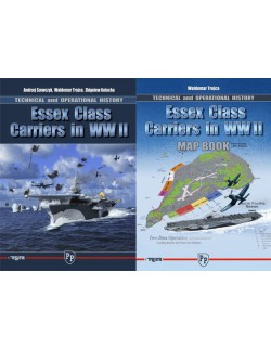 Essex Class Carriers in WW II BY A. SZEWCZYK, W. TROJCA, Z. KOLACHA