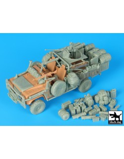 Land Rover Australian spec.for. big accesor. set cat.n.:T35181, BLACK DOG, 1:35