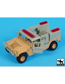 Hummer Mini Pumper conversion set cat.n.: T35184, BLACK DOG, 1:35