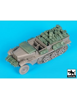 Sd. Kfz. 10 accessories set, T35155, BLACK DOG, 1:35