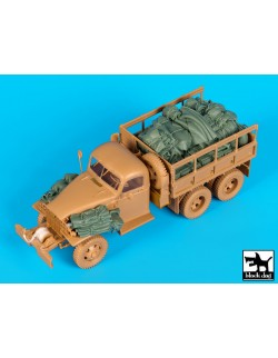 US GMC CCKW accessories set, T35156, BLACK DOG, 1:35