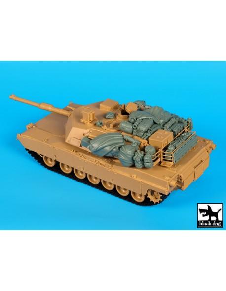 M1A1 accessories set cat.n.: T35154, BLACK DOG, 1:35