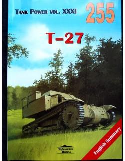 MILITARIA 255, T-27 BY JANUSZ LEDWOCH