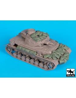 Accessories set for Pz. Kpfw IV F1, T35159, BLACK DOG, 1:35