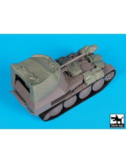 Accessories set for Marder III with canvas, T35160, BLACK DOG, 1:35