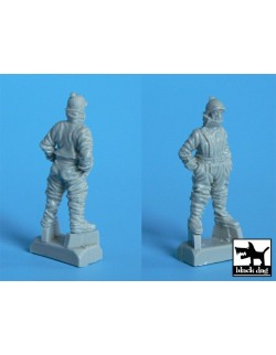 German pilot winter WW I, cat.n.: A48005 , BLACK DOG, 1:48