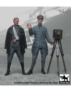 German Fighter Pilots 1914-1918 set N°3 cat.n.: F32009 , BLACK DOG, 1:32