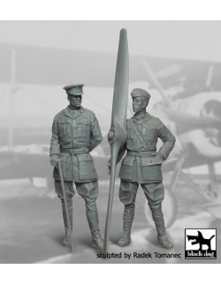 RFC Fighter Pilots 1914-1918 set cat.n.: F32015 , BLACK DOG, 1:32