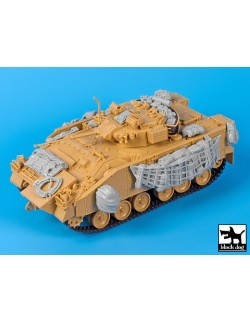 British Warrior MCV accessories set, T35112, BLACK DOG, 1:35