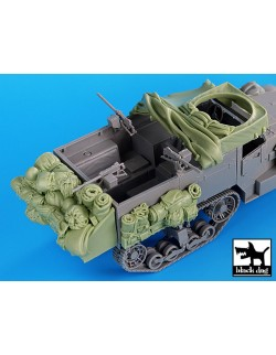 Resin accessories for US M2 - set 1, T35035, BLACK DOG, 1:35