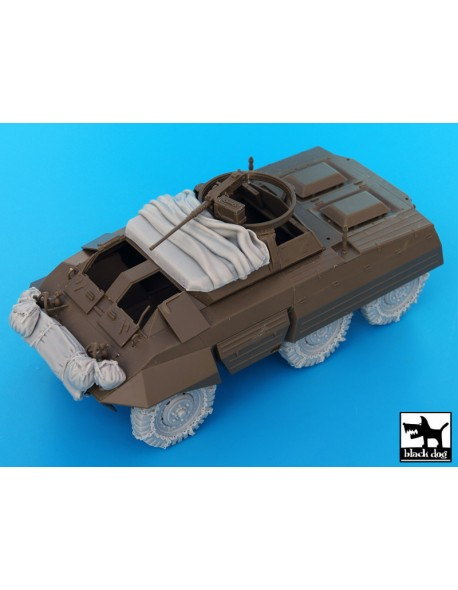US M20 accessories set,T35048, BLACK DOG, 1:35