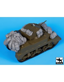 M5A1 accessories set, T35056, BLACK DOG, 1:35