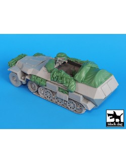 Sd. Kfz.251 C accessories set ,T35018, BLACK DOG, 1:35
