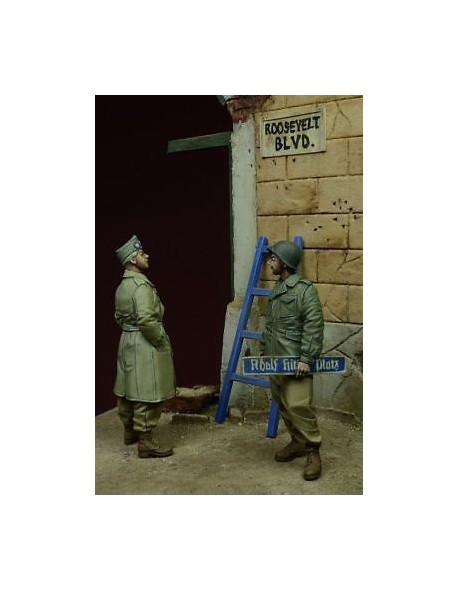 D-Day Miniature, 35079,1:35, ''Roosevelt Boulevard'' US Soldiers, Germany 1945