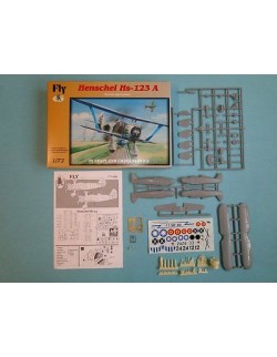 HENSCHEL HS-129 A,GERMAN LIGHT BOMBER(CHINA AND SPAIN VER.),FLY 72009,SCALE 1/72