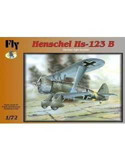 HENSCHEL HS-129 B,GERMAN LIGHT BOMBER (LUFTWAFFE VER.),FLY 72010,SCALE 1/72