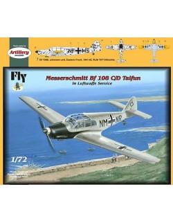 MESSERSCHMITT BF 108 B/D TAIFUN (LUFTWAFFE VER.),FLY 72028,SCALE 1/72