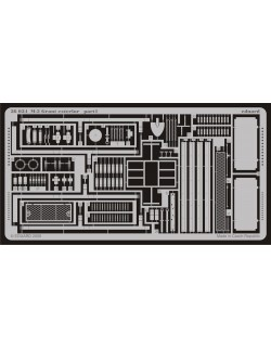 PE parts for M-3 Grant exterior (ACADEMY), 1/35, Eduard 36034