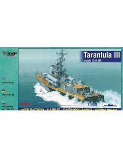 TARANTUL III MISSILE CORVETTE, 1:400, MIRAGE HOBBY 40230