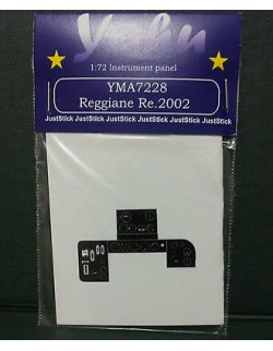YAHU MODELS 1:72, PE instrument panels Re.2002 for Sword,7228