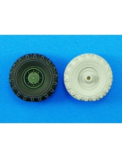 LEGEND PRODUCTION, LF1198, AS-LAV Wheel set (Sagged), 1:35