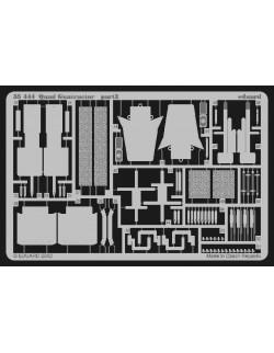 PE parts for Quad Guntractor (TAMIYA), 1/35, Eduard 35444