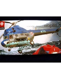 MIL MI-2 ''HOPLITE''  MULTI PURPOSE HELICOPTER, ZTS PLASTYK, SCALE 1/72