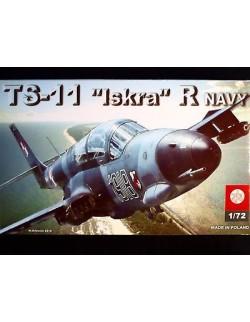 TS-11 ''ISKRA'' R NAVY, ZTS PLASTYK, SCALE 1/72