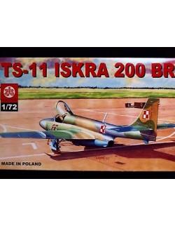 TS-11 ''ISKRA'' 200 BR - GROUND ATTACK AIRCRAFT, ZTS PLASTYK, SCALE 1/72