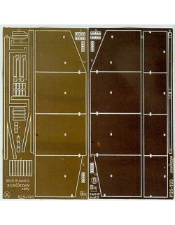 Photoetched metal parts for StuG III Ausf.G early (PE1/35)- P35193, PART