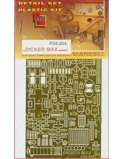 Photoetched metal parts for Dicker Max (PE1/35)- P35204, PART