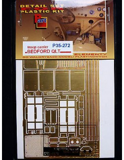 Photoetched metal parts for BEDFORD QLT TROOP CARRIER, 1/35 - P35272, PART