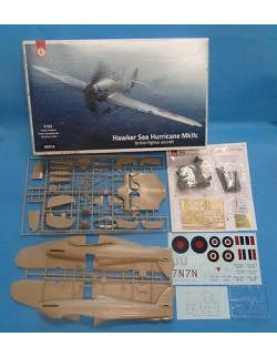 HAWKER  SEA HURRICANE MK.2C, BRITISH FIGHTER AIRCRAFT, FLY 32014, SCALE 1/32