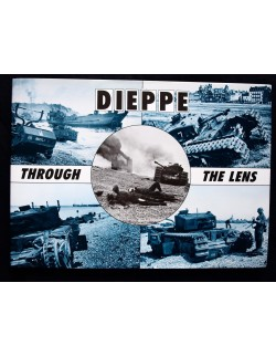 DIEPPE THROUGH THE LEND BY HUGH G.HENRY, AFTER THE BATTLE