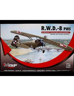 R.W.D. – 8 PWS, TRAINER AND LIAISON AIRCRAFT, MIRAGE HOBBY, SCALE 1/48