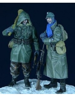 "D-Day Miniature, 35006, 1/35 German SS Grenadiers, set 1 ""Eastern Front 1943-45"