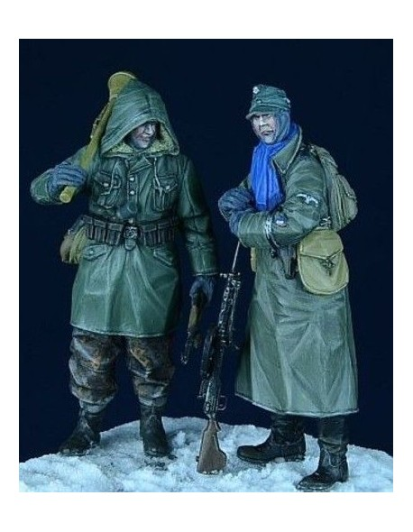 """D-Day Miniature, 35006, 1/35 German SS Grenadiers, set 1 """"Eastern Front 1943-45"""