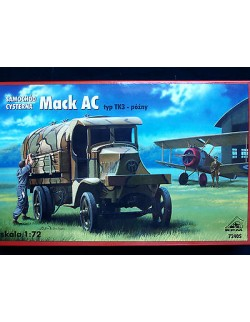 MACK AC  TYPE TK 3, LATE, ALLIED WWI  FUEL TANKER   , RPM, SCALE 1/72