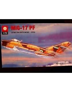 MIG-17 PF SYRIA AIR FORCE, ZTS PLASTYK,SCALE 1/72