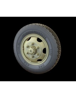 PANZER ART, RE34-392 ZiS-151 Russian Truck Road Wheels (Jaroslavskij Zavod)
