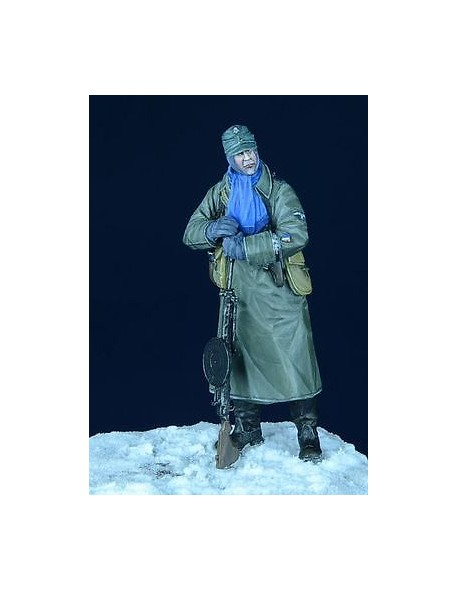 """D-Day Miniature, 35004, 1/35 German SS Grenadier with Degtaryew """"Eastern Front 1"""