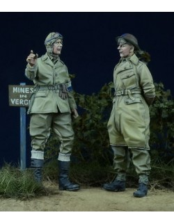 D-Day Miniature, 35012 1/35, British Despatch Rider & MP 1943-45 (2 figures)