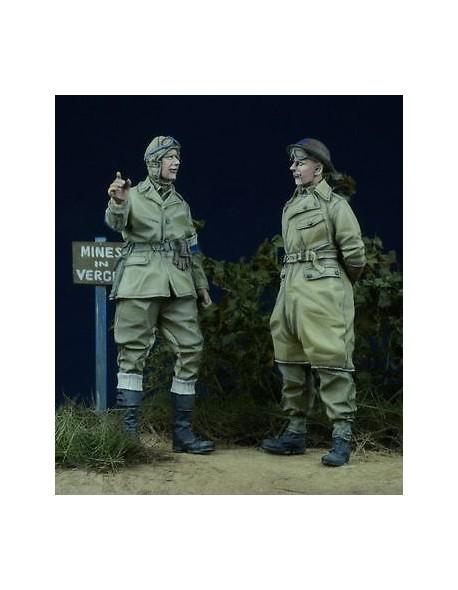 D-Day Miniature, 35012 1/35, British Despatch Rider & MP 1943-45 (2 figures)