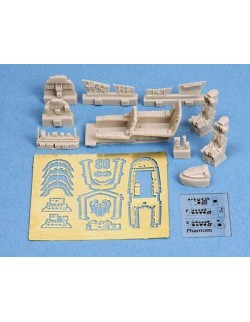 S.B.S Models, 1:72, 72004, F-4E/F Phantom cockpit set for REVELL kit