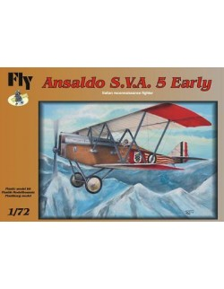 Ansaldo S.V.A. 5 Early Italian reconnaissance fighter, FLY 72001, SCALE 1/72