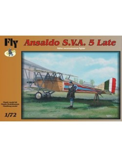 Ansaldo S.V.A. 5 LATE Italian reconnaissance fighter, FLY 72002, SCALE 1/72