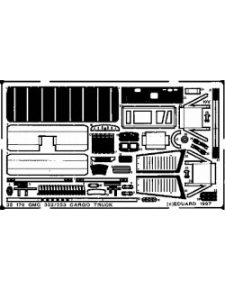PE parts for GMC 353, 1/35 (for TAMIYA), Eduard 35170