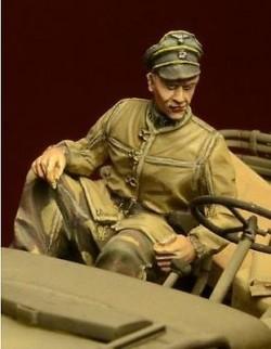 D-Day Miniature, 35029,1:35, Waffen SS Jeep Passenger, Ardennes 1944 (1 figure)