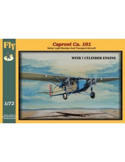 Caproni Ca. 101 with 7 cylinder engine, FLY 72013, SCALE 1/72