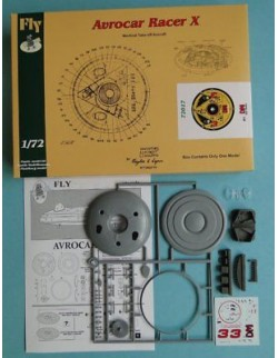 Avrocar Racer X DM, FLY 72017, SCALE 1/72